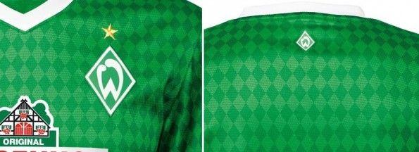 Dettagli maglia home 2013-2014 Werder Brema