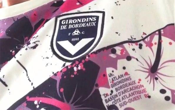 Particolare divisa away Bordeaux 2013-14