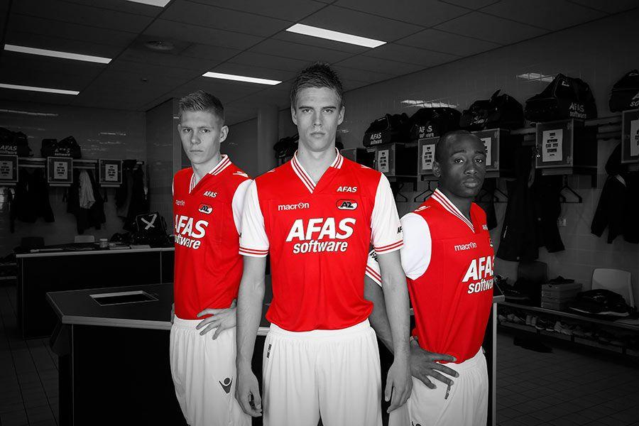 La divisa home dell'AZ Alkmaar 2013-2014