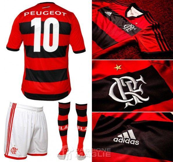 Kit casalingo Flamengo 2013 adidas
