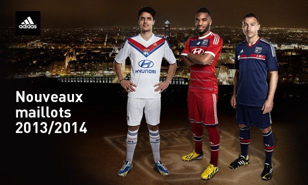 Divise 2013-2014 Lione adidas