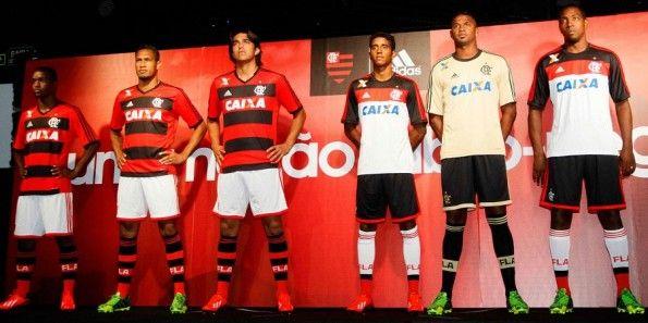 Divise Flamengo 2013 adidas