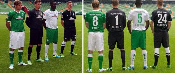 Kit Werder Brema 2013-2014 Nike