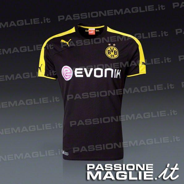 Anteprima maglia away Borussia Dortmund 2013-2014