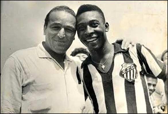 Lolo Fernàndez e Pelè 1960
