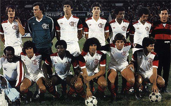 La squadra del Flamengo 1981