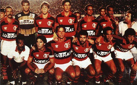 Formazione del Flamengo 1990