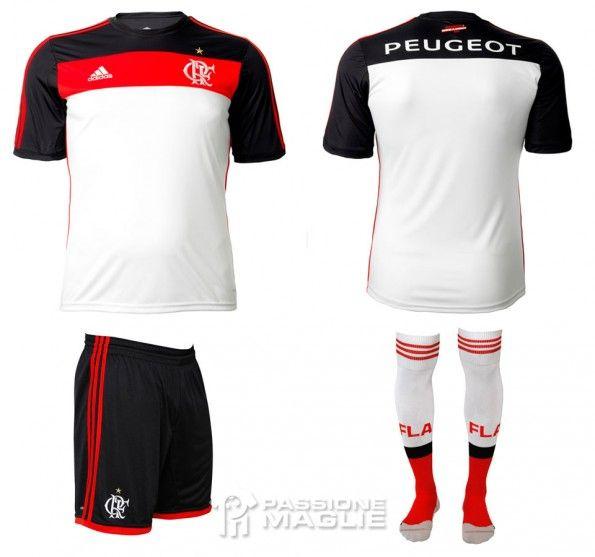 Seconda maglia Flamengo 2013 adidas
