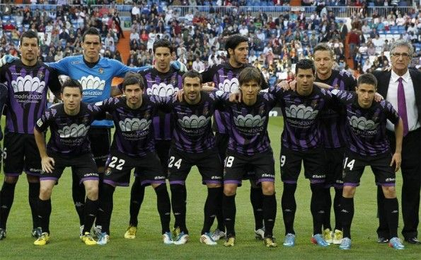Formazione Valladolid-Real Madrid 2013