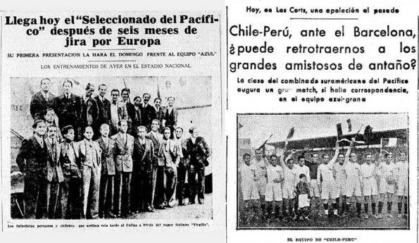 Giornali Perù anni 30