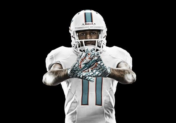 Guanti Miami Dolphins 2013 Football
