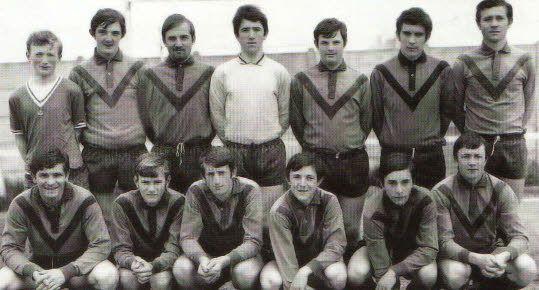 La squadra del Guingamp anni '70