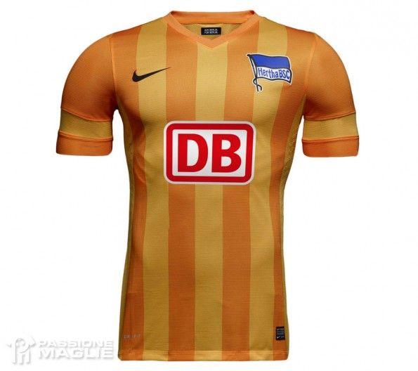 Hertha Berlino seconda maglia trasferta 2013-2014