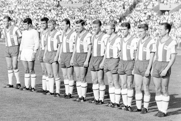 Formazione Hertha Berlino anni 60