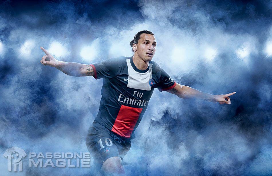 Ibrahimovic maglia PSG 2013-2014