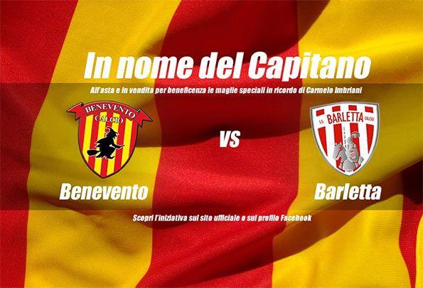 Il Benevento ricorda Carmelo Imbriani