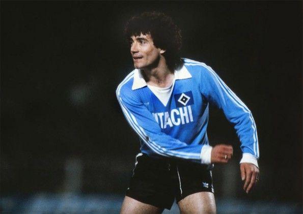 Kevin Keegan maglia Amburgo anni '70