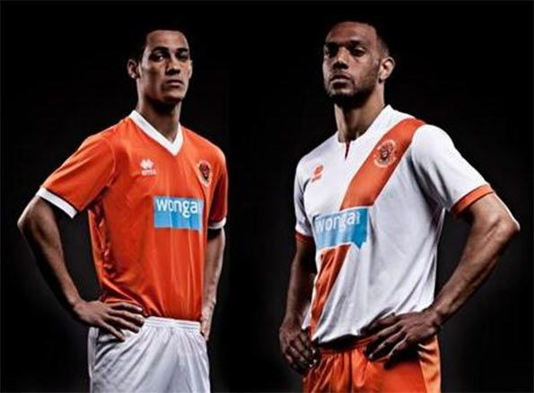 Kit Blackpool 2013-2014 Erreà