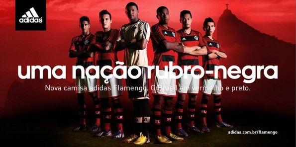 Campagna adidas kit Flamengo 2013