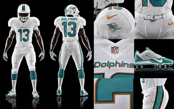 Kit Football Miami Dolphins Nike 2013