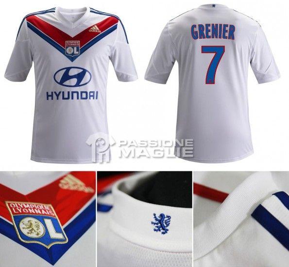 La prima maglia del Lione 2013-2014