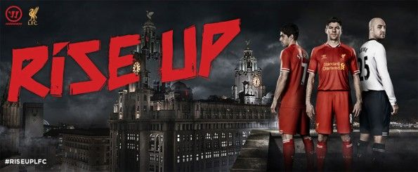 Campagna lancio kit Liverpool Warrior 2013
