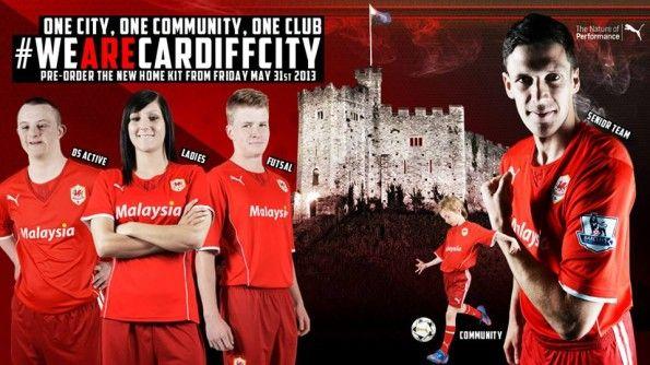 Maglia Cardiff City 2013-2014