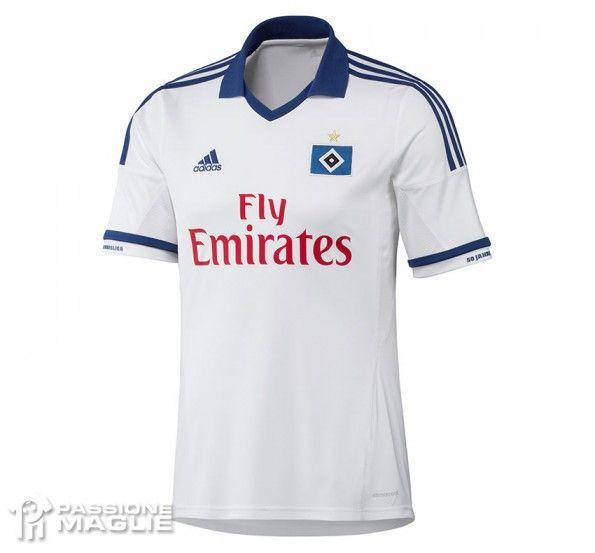 Maglia Amburgo HSV 2013-2014 adidas