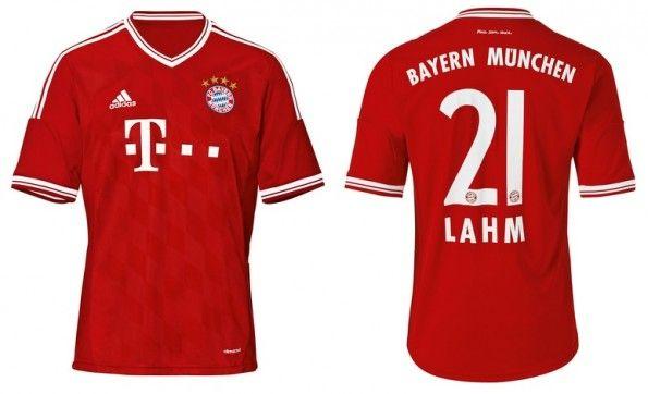 La maglia 2013-2014 del Bayern Monaco
