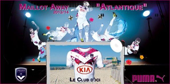 Presentazione maglia Bordeaux away 2013-14