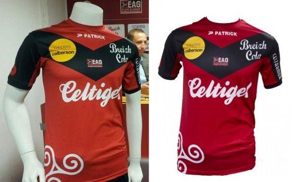 Maglia Guingamp 2013-2014 Patrick