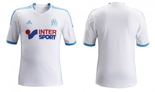 La maglia home 2013-2014 del Marsiglia