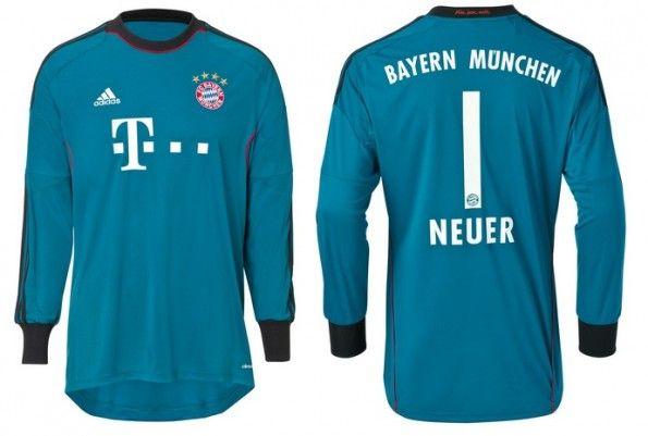 La maglia da portiere 2013-2014 del Bayern Monaco