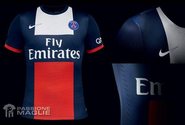 Paris Saint-Germain maglia 2013-2014 Nike