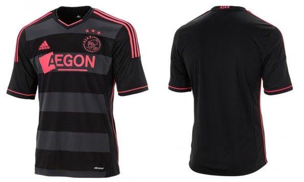 Seconda maglia Ajax stagione 2013-2014