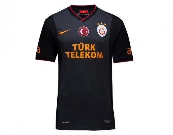 Seconda maglia Galatasaray 2013-2014 antracite