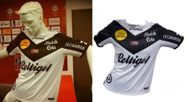 Seconda maglia away Guingamp 2013-2014