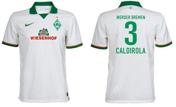 Seconda maglia Werder Brema 2013-2014