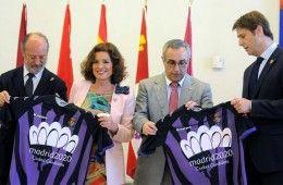 Presentazione maglia Valladolid supporto Olimpiadi 2020