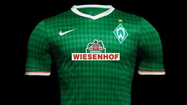 Prima maglia Werder Brema Nike 2013-2014