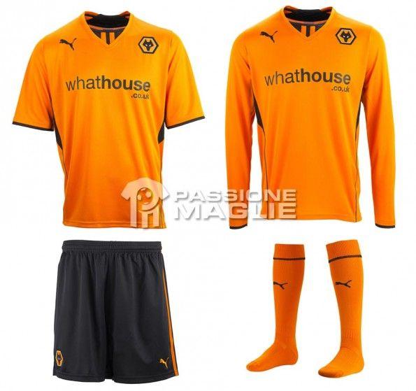 Wolverhampton prima maglia 2013-2014 Puma