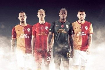 Maglie Galatasaray 2013-2014 Nike