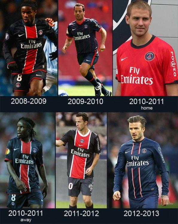 Maglie PSG 2008-2013
