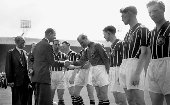 Manchester City finale FA Cup 1956