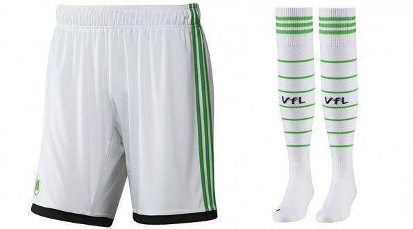 Pantaloncini e calzettoni 2013-2014 Wolfsburg