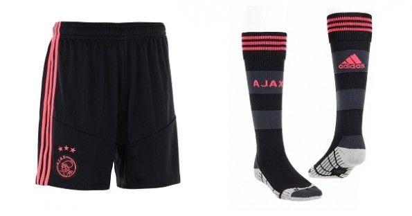 Pantaloncini e calzettoni da trasferta Ajax 2013-2014