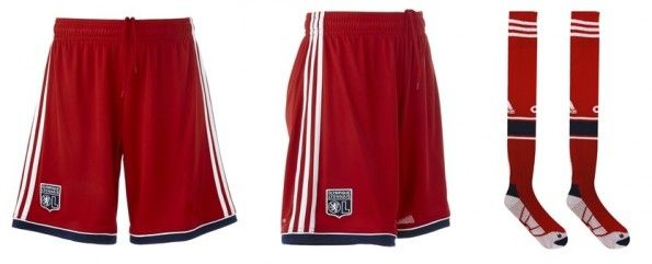 Pantaloncini e calzettoni seconda divisa Lione 2013-2014