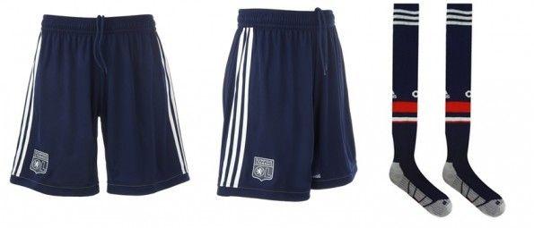 Pantaloncini e calze terza divisa del Lione 2013-2014