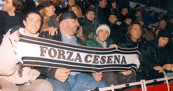 Marco Pantani bandiera Cesena