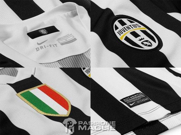 Particolari casacca Juventus authentic 2013-14 Nike